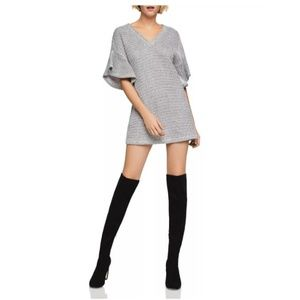 LAST CHANCE! NWT BCBG Flutter-Sleeve Sweater Dress